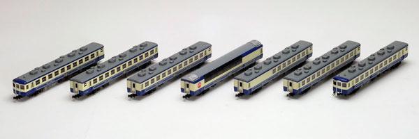 98618 JR 12系客車(ばんえつ物語・新塗装)セット(7両)[TOMIX]《取り寄せ※暫定》
