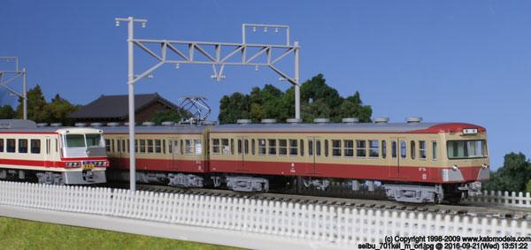 10-1356 西武鉄道701系(非冷房) 4両基本セット[KATO]《取り寄せ※暫定》