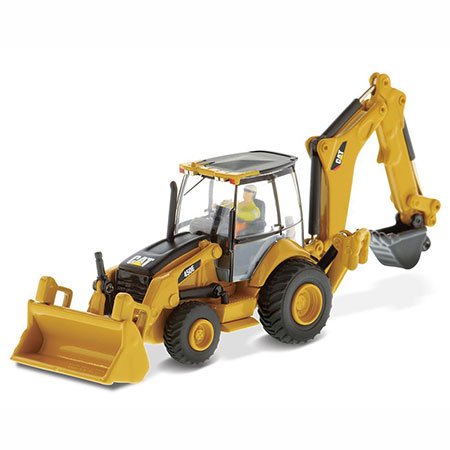 ハイライン 1/87 Cat 450E バックホーローダ(High Line 1/87 Cat 450E Side Shift Backhoe Loader(Released))
