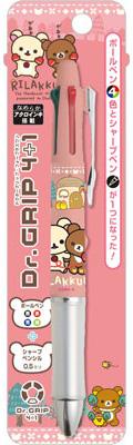 """PP28901 """"Tebukuro wo Todoke ni"""" Rilakkuma - Dr.Grip 4+1(Released)(PP28901 「てぶくろをとどけに」 リラックマ ドクターグリップ4+1)"""
