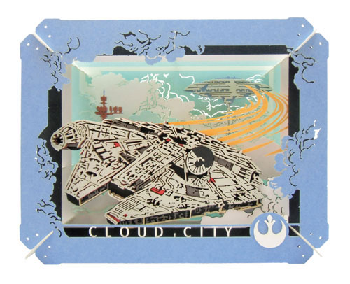 PAPER THEATER PT-057 Star Wars CLOUD CITY (STAR WARS)(Back-order)(PAPER THEATER PT-057 スター・ウォーズ CLOUD CITY(STAR WARS))