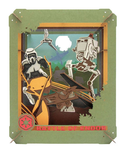 PAPER THEATER PT-058 Star Wars BATTLE OF ENDOR (STAR WARS)(Released)(PAPER THEATER PT-058 スター・ウォーズ BATTLE OF ENDOR(STAR WARS))
