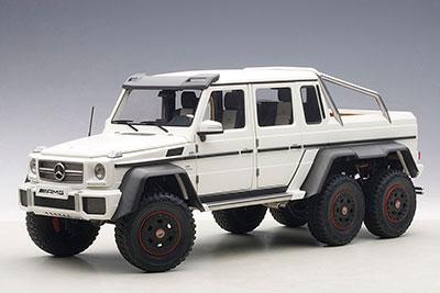 オートアート・コンポジットモデル 1/18 メルセデス ベンツ G63 AMG 6X6 (マット・ホワイト)[オートアート]【送料無料】《取り寄せ※暫定》