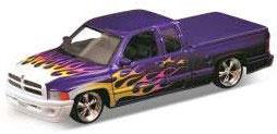 1/24 ダッジラム クワッド キャブ 1500 スポーツ LOW RIDER(パープル)(1/24 Dodge Ram Quad Cab 1500 Sports LOW RIDER (Purple)(Back-order))
