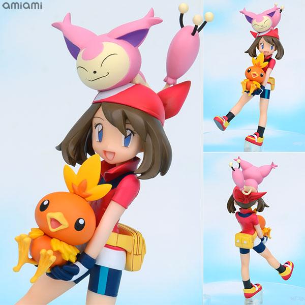 G.E.M. Series - Pokemon: May & Torchic & Skitty Complete Figure(Released)(G.E.M.シリーズ ポケットモンスター ハルカ&アチャモ&エネコ 完成品フィギュア)