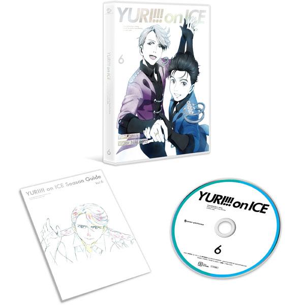 BD Yuri on Ice Vol.6(Pre-order)(BD ユーリ!!! on ICE 6 (Blu-ray Disc))