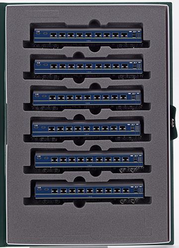 10-1353 20系寝台客車 ナハネ20 6両増結セット(再販)[KATO]《03月予約》