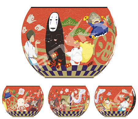 Jigsaw Puzzle - Spirited Away: Kamigami no Sekai wo Meguru (AT8-08)(Back-order)(ジグソーパズル 千と千尋の神隠し 神々の世界を巡る (AT8-08))