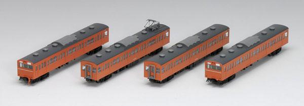 98238 103系通勤電車(高運転台非ATC車・オレンジ)基本セット (4両)[TOMIX]《取り寄せ※暫定》