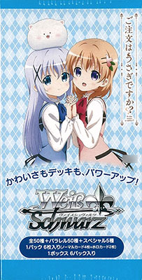 """[Bonus] Weiss Schwarz - Extra Booster """"Is the order a rabbit??"""" 6Pack BOX(Released)(【特典】ヴァイスシュヴァルツ エクストラブースター「ご注文はうさぎですか??」 6パック入りBOX)"""