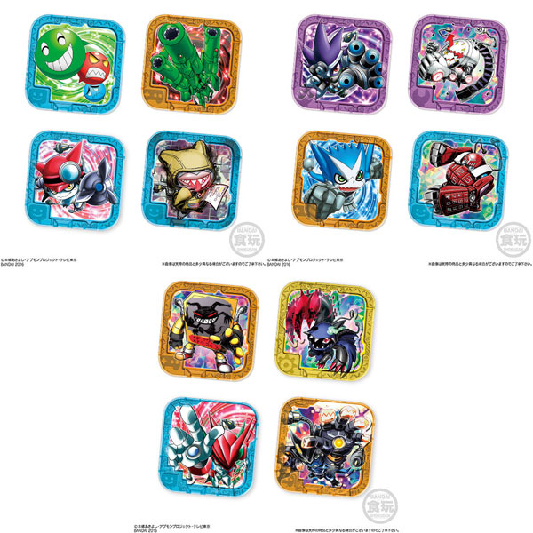 Digimon Universe Appli Monsters - SG Appmon Chip ver.1.0 20Pack BOX (CANDY TOY)(Back-order)(デジモンユニバース アプリモンスターズ SGアプモンチップver.1.0 20個入りBOX(食玩))