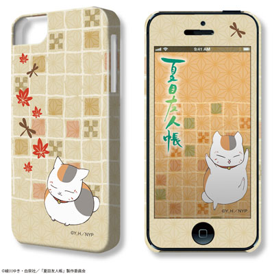 "DezaJacket ""Natsume Yuujinchou"" iPhone 5/5s/SE Case & Protection Sheet: Design 03 (Maple)(Released)(デザジャケット「夏目友人帳」iPhone 5/5s/SEケース&保護シート デザイン03(紅葉))"