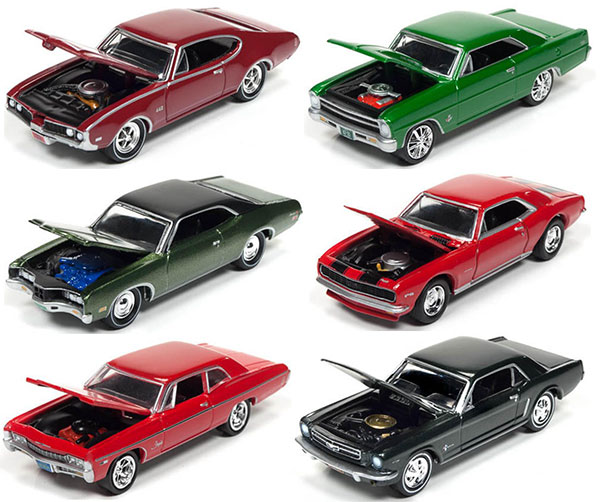 Amiami Rakuten Global Market Johnny Lightning Muscle Cars A