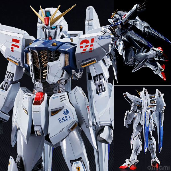 "METAL BUILD ガンダムF91 『機動戦士ガンダムF91』(METAL BUILD - Gundam F91 ""Mobile Suit Gundam F91""(Released))"