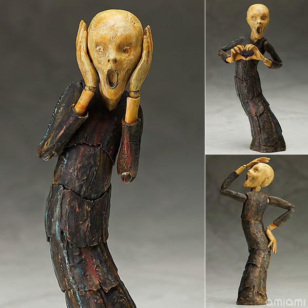 figma - The Table Museum: The Scream(Released)(figma テーブル美術館 叫び)
