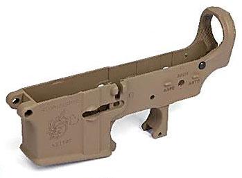 次世代電動ガン M4シリーズ用 MG ロアフレーム セラコートVer. Knight's Armament Type マグプルダークアース[ライラクス]《取り寄せ※暫定》