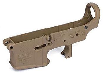 次世代電動ガン M4シリーズ用 MG ロアフレーム セラコートVer. NOVESKE Type マグプルダークアース[ライラクス]《取り寄せ※暫定》