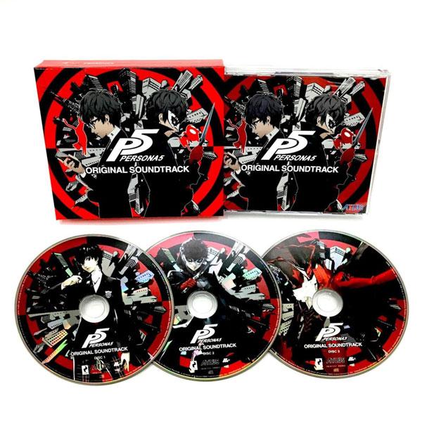 "CD ""Persona 5"" Original Soundtrack(Back-order)(CD 『ペルソナ5』オリジナル・サウンドトラック)"