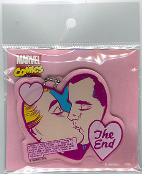 MARVEL FOR GIRLS! - Acrylic Keychain: KISS(Released)(MARVEL FOR GIRLS! アクリルキーホルダー KISS)