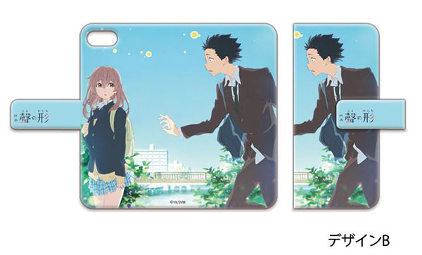 A Silent Voice - Book-style Smartphone Case: Design B (iPhone 6S)(Released)(聲の形 手帳型スマホケース デザインB(iPhone6S))