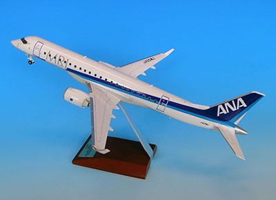 1/100 MRJ90 JA25MJ 飛行試験機5号機 スナップフィットモデル(ギア付) 宮沢模型流通限定[全日空商事]《取り寄せ※暫定》