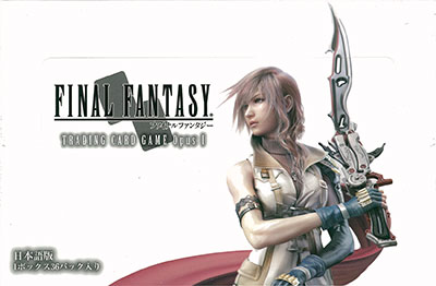 Final Fantasy Trading Card Game - FF-TCG Opus I Booster Pack Japanese Edition 36Pack BOX(Released)(ファイナルファンタジー トレーディングカードゲーム FF-TCG Opus I ブースターパック日本語版 36パック入りBOX)