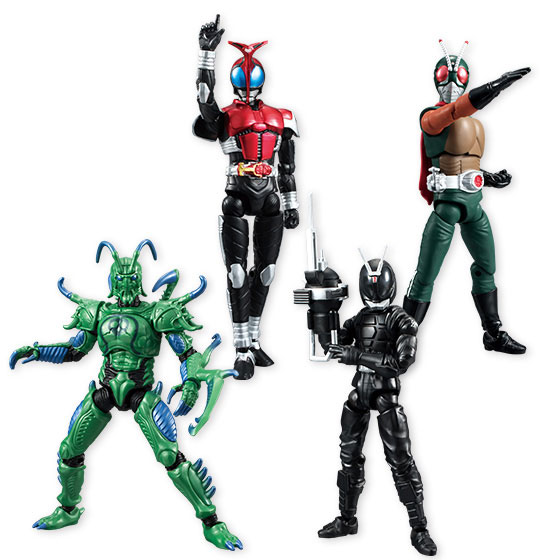SHODO Kamen Rider VS5 10Pack BOX (CANDY TOY)(Released)(SHODO 仮面ライダーVS5 10個入りBOX (食玩))