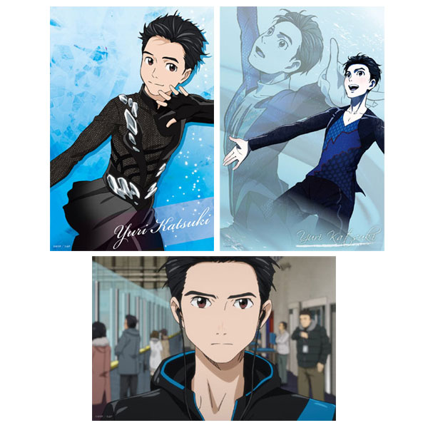 Yuri on Ice - Bromide Set: Yuri Katsuki(Released)(ユーリ!!! on ICE ブロマイドセット 勝生勇利)