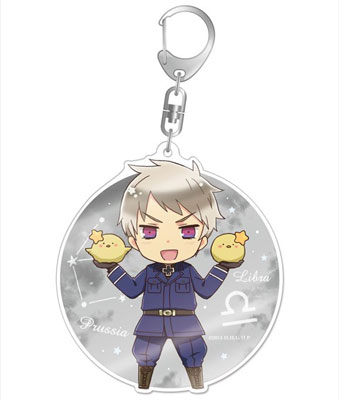 Hetalia The World Twinkle - Deka Acrylic Keychain: Prussia(Back-order)(ヘタリア The World Twinkle デカアクリルキーホルダー プロイセン)