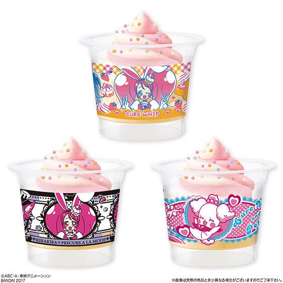 KiraKira Precure A La Mode - Tsukuru Oyatsu PreCure Colorful Cup Sweets 6Pack BOX (CANDY TOY)(Pre-order)(キラキラ☆プリキュアアラモード つくるおやつプリキュアカラフルカップスイーツ 6個入りBOX(食玩))