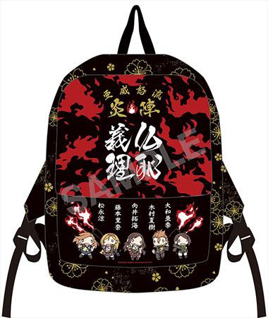 "ChimaDol - ""THE IDOLM@STER Cinderella Girls"" - Full Color Backpack: Enjin(Back-order)(ちまドル アイドルマスター シンデレラガールズ フルカラーリュック 炎陣)"