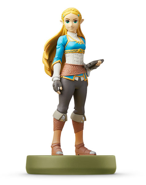"amiibo - Zelda ""Breath of the Wild"" (The Legend of Zelda Series)(Released)(amiibo ゼルダ『ブレス オブ ザ ワイルド』(ゼルダの伝説シリーズ))"