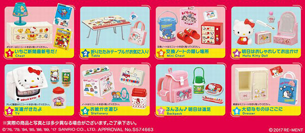 Sanrio Characters - Ano Koro Hello Kitty to 8Pack BOX (CANDY TOY)(Released)(サンリオキャラクターズ あの頃ハローキティと 8個入りBOX (食玩))