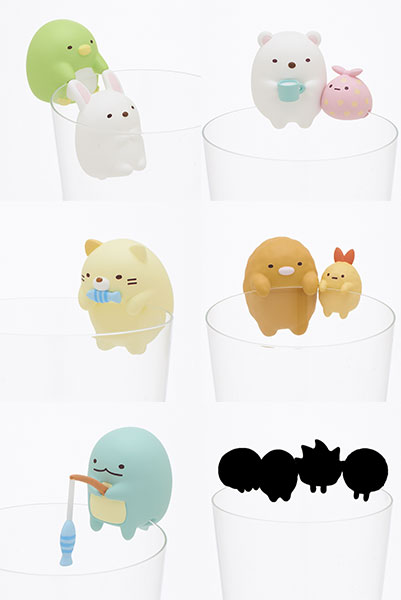 PUTITTO - Sumikko Gurashi 8Pack BOX(Released)(PUTITTO すみっコぐらし 8個入りBOX)