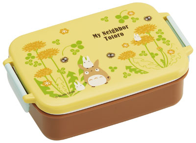 My Neighbor Totoro (Dandelion) RB3A Dishwasher Safe Tight Lunch Box Square Type(Released)(となりのトトロ〈たんぽぽ〉 RB3A 食洗機対応タイトランチボックス角型)