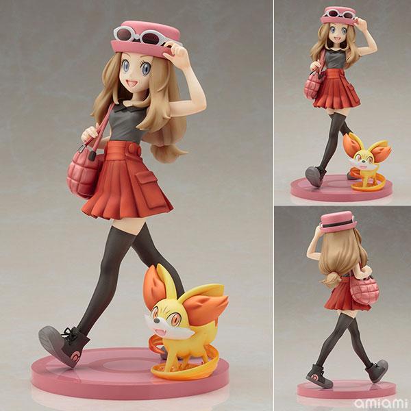 "ARTFX J - ""Pokemon"" Series: Serena with Fennekin 1/8 Complete Figure(Released)(ARTFX J 『ポケットモンスター』シリーズ セレナ with フォッコ 1/8 完成品フィギュア)"