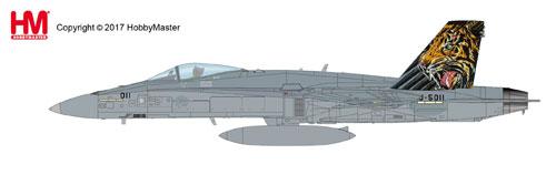 """1/72 F/A-18C ホーネット """"スイス空軍 タイガーミート・2016""""[ホビーマスター]《取り寄せ※暫定》"""