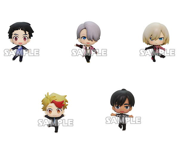 Yuri on Ice - Collection Figure 6Pack BOX(Released)(ユーリ!!! on ICE コレクションフィギュア 6個入りBOX)