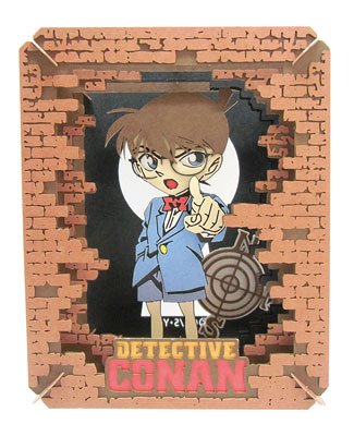 PAPER THEATER - Detective Conan PT-073 Conan Edogawa(Released)(ペーパーシアター 名探偵コナン PT-073 江戸川コナン)