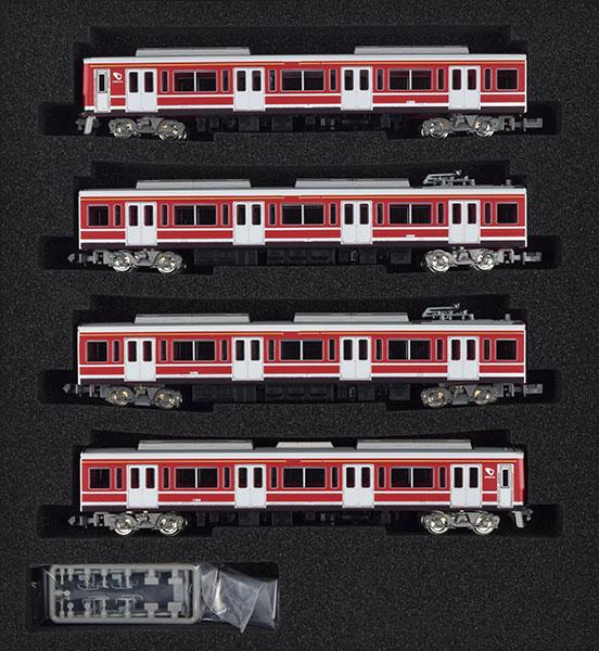 30592 小田急1000形(赤) 4両編成セット(動力付き)[グリーンマックス]【送料無料】《取り寄せ※暫定》