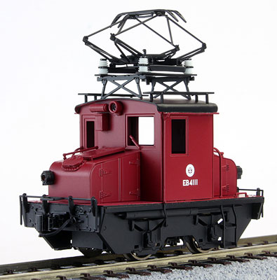 16番 上田交通 EB4111 電気機関車 塗装済完成品[ワールド工芸]【送料無料】《在庫切れ》