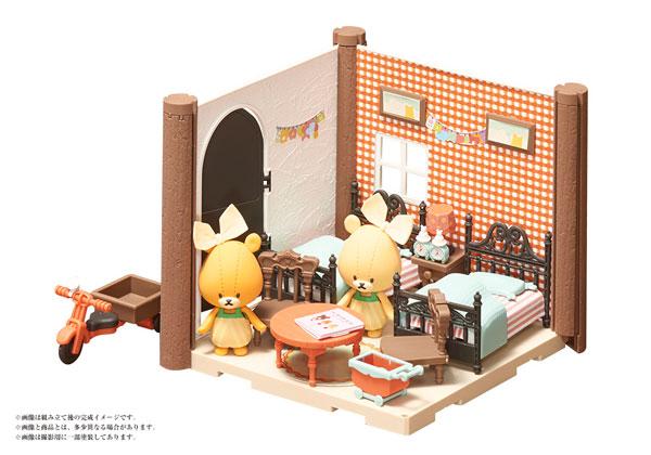 HACO ROOM くまのがっこう ふたごのこども部屋キット(HACO ROOM - The Bear's School: Twin's Children's Room Kit(Back-order))