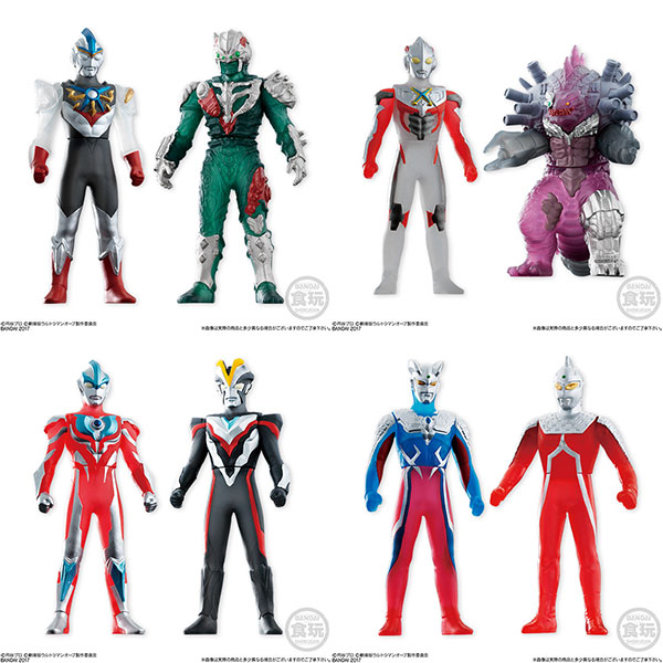 ソフビヒーローVSウルトラマン対決セット ウルトラマンオーブ絆の力編!! 12個入りBOX (食玩)(Sofubi Hero VS Ultraman Taiketsu Set - Ultraman Orb Kizuna no Chikara Hen!! 12Pack BOX (CANDY TOY)(Released))