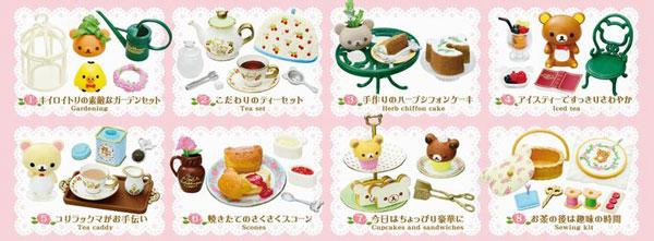 Rilakkuma - Akogare no British Tea Time 8Pack BOX(Released)(リラックマ 憧れのBritish Tea Time 8個入りBOX)