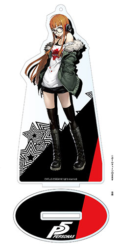 P5 -Persona 5- Deka Acrylic Stand: Futaba Sakura(Released)(P5 - ペルソナ5 - デカアクリルスタンド 佐倉双葉)