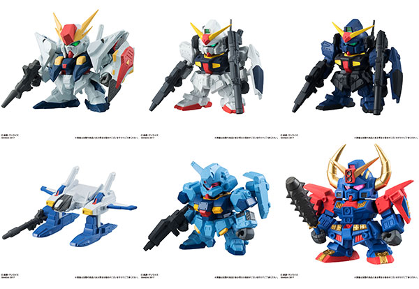 Mobile Suit Gundam - Gashapon Senshi Forte 03 12Pack BOX(Released)(機動戦士ガンダム ガシャポン戦士フォルテ03 12個入りBOX)