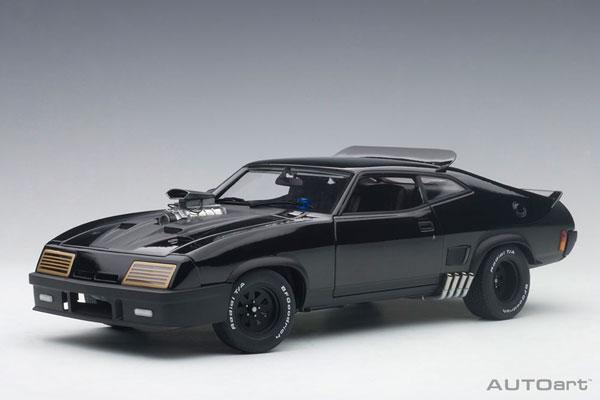 1/18 フォード XB ファルコン チューンド・バージョン 「ブラック・インターセプター」(再販)[オートアート]《取り寄せ※暫定》