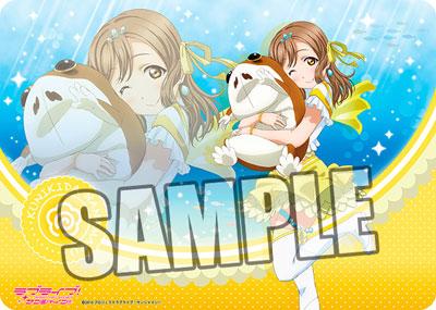 "Character All Purpose Rubber Mat - Love Live! Sunshine!! ""Hanamaru Kunikida"" Plush Hugging Ver.(Back-order)(キャラクター万能ラバーマット ラブライブ!サンシャイン!!「国木田花丸」ぬいぐるみ抱っこVer.)"
