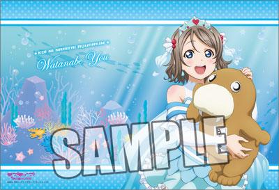 Love Live! Sunshine!! - Pillow Case: You Watanabe Plush Hugging Ver.(Released)(ラブライブ!サンシャイン!! ピローケース「渡辺曜」ぬいぐるみ抱っこVer.)