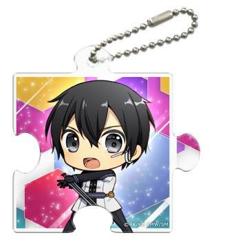 Sword Art Online the Movie: Ordinal Scale - Puzzle-shaped Clear Charm: Kirito SD(Released)(『劇場版 ソードアート・オンライン -オーディナル・スケール-』 パズル型クリアチャーム キリトSD)